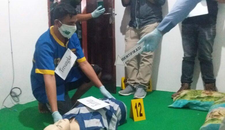 Reka adegan Pembunuhan Guru PAUD di Gorontalo
