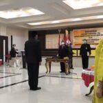 Gubernur Rusli Lantik Pjs Bupati Gorontalo dan Bone Bolango