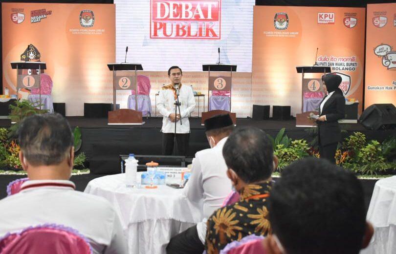 Debat Wakil Bupati