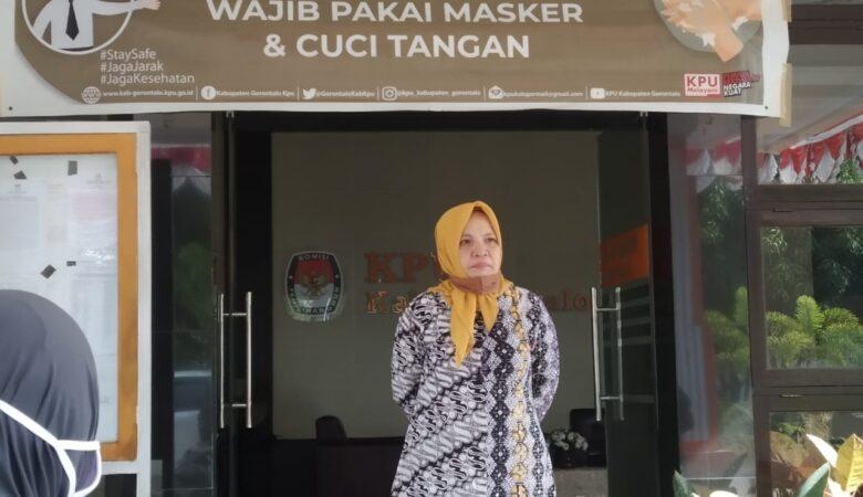 Selvi Katili, Sidak KPU Gorontalo