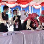 KPU Bone Bolango Lakukan Simulasi Pemungutan Suara