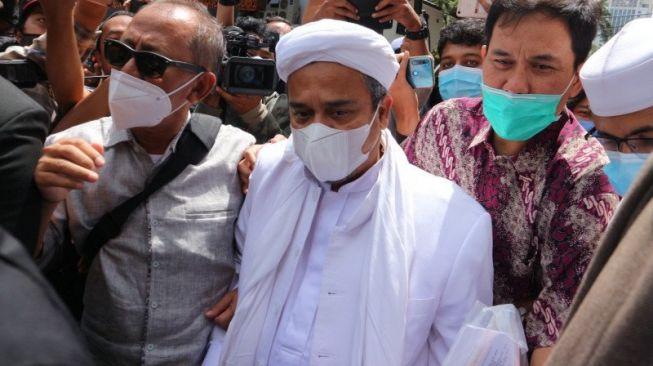 Rizieq Shihab Ditangkap