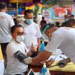 La Ode Haimudin, Anggota DPRD Provinsi Gorontalo Pertama Terima Vaksin