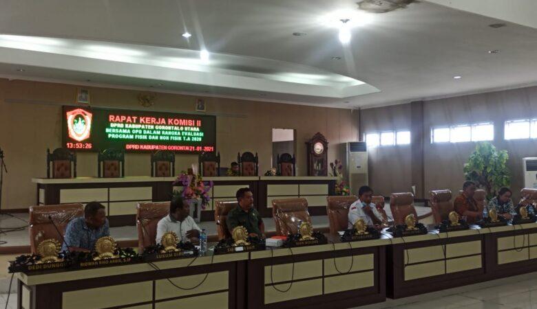 Komisi II DPRD Gorut
